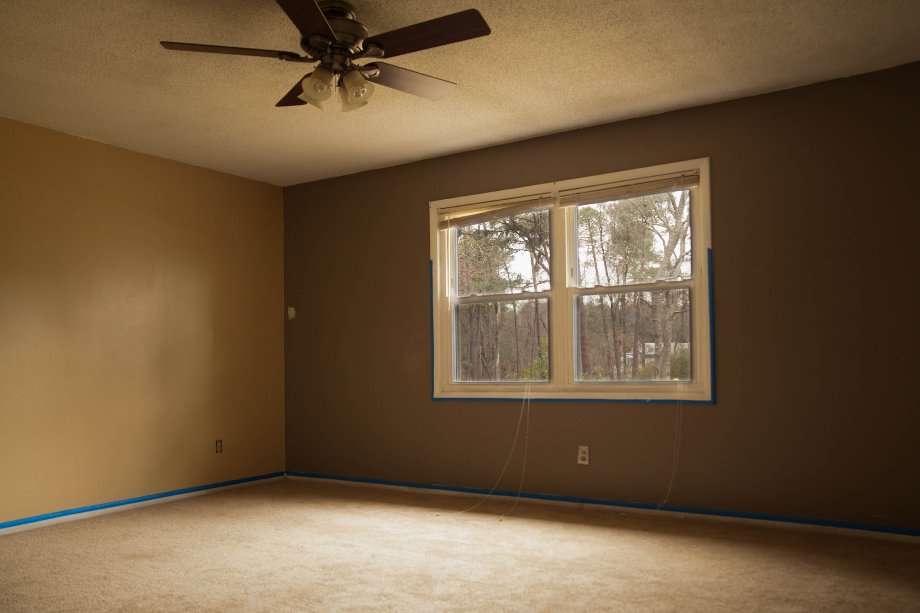 First Rental Property Master Bedroom Before