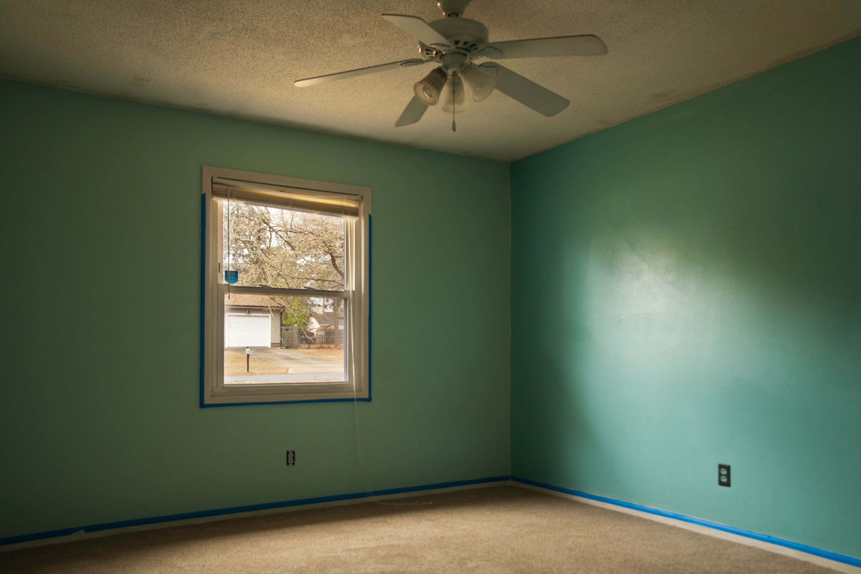 First Rental Property Bedroom #2 Before