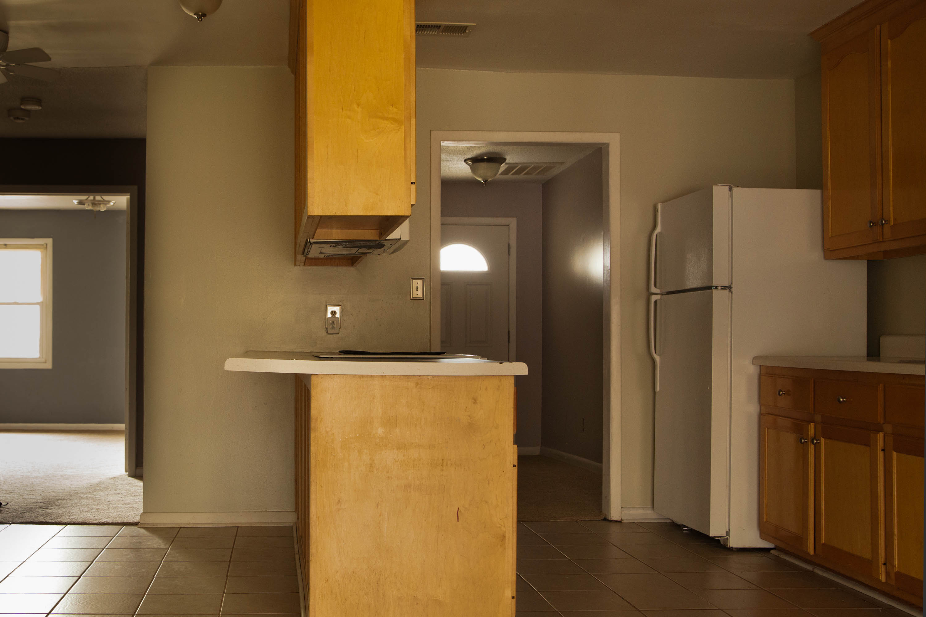 First Rental Property Main Kitchen Area
