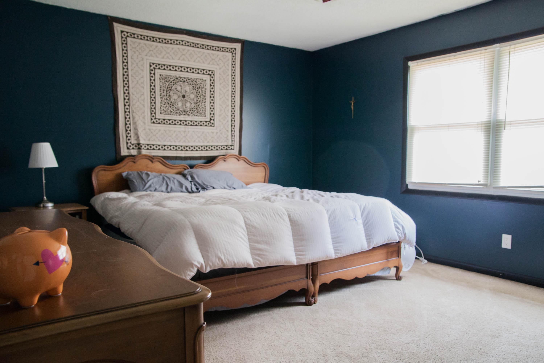 First Rental Property Master Bedroom After